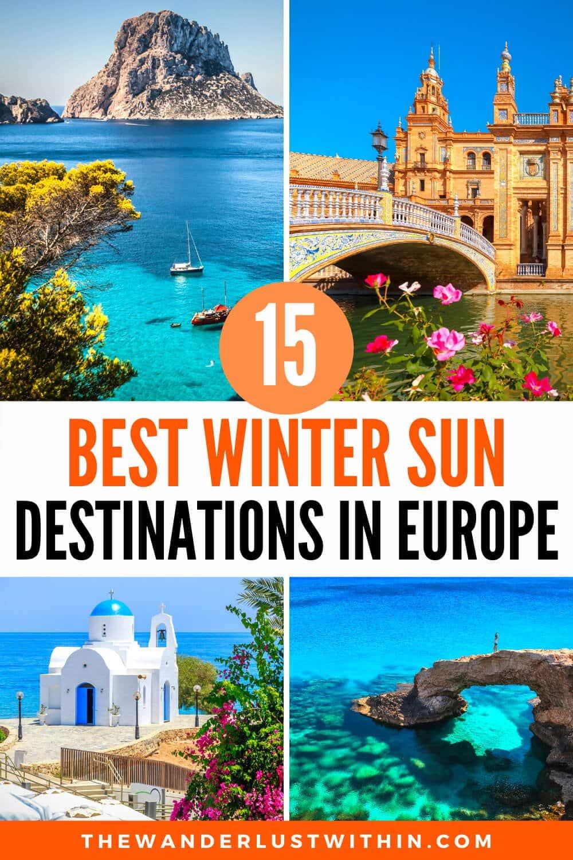 Où aller en vacances au soleil en Europe?